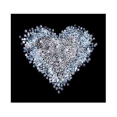 PPS. Imaging GmbH Tapete Heart of Diamond 280 cm B cm H x 300 cm B
