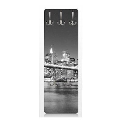 PPS. Imaging GmbH Wandgarderobe Nighttime Manhattan Bridge II New York