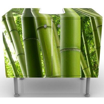 PPS. Imaging GmbH 60 cm Waschbeckenunterschrank Bamboo Trees No.1