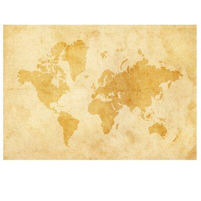 PPS. Imaging GmbH Tapete Vintage Worldmap 280 cm B cm H x 400 cm B