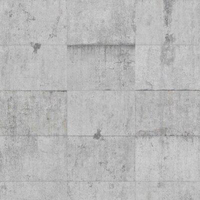 PPS. Imaging GmbH Tapete Beton Ziegeloptik 225 cm H x 336 cm B