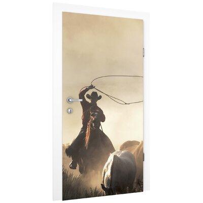 PPS. Imaging GmbH Tapete Cowboys 215 cm H x 96 cm B