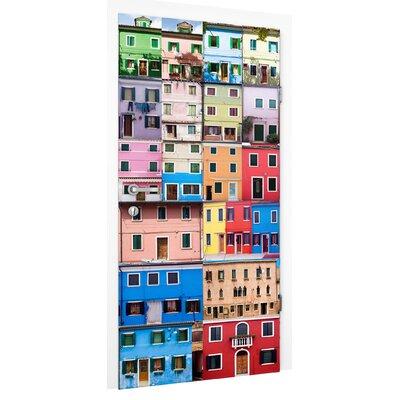 PPS. Imaging GmbH Tapete Venezianische Häuser 215 cm B cm H x 96 cm B