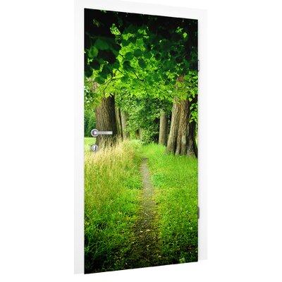 PPS. Imaging GmbH Tapete Verborgene Lichtung 215 cm B cm H x 96 cm B