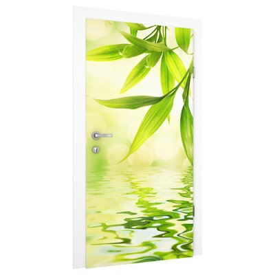 PPS. Imaging GmbH Tapete Green Ambiance I 215 cm H x 96 cm B