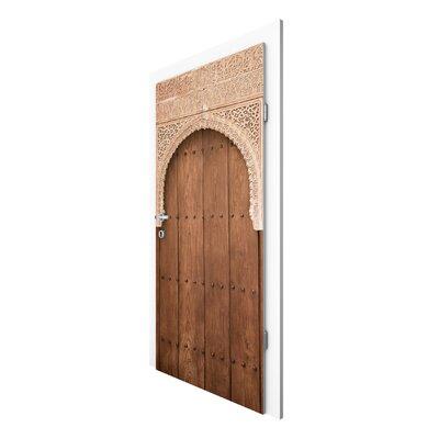 PPS. Imaging GmbH Tapete Holztor aus dem Alhambra Palast 215 cm H x 96 cm B