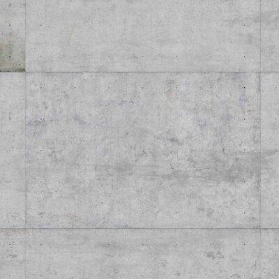 PPS. Imaging GmbH Tapete Große Betonplatten 225 cm H x 336 cm B