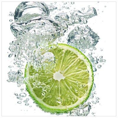 PPS. Imaging GmbH Tapete Lime Bubbles 192 cm H x 192 cm B