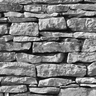 PPS. Imaging GmbH Tapete Stonewall 190 cm H x 288 cm B