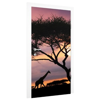 PPS. Imaging GmbH Tapete Safari in Afrika 215 cm B cm H x 96 cm B
