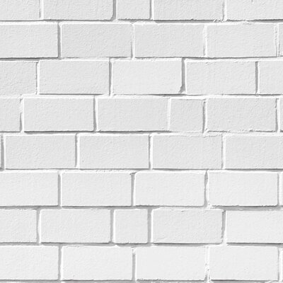 PPS. Imaging GmbH Tapete White Stonewall 225 cm H x 336 cm B