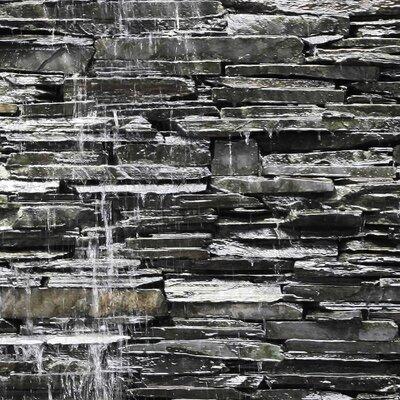 PPS. Imaging GmbH Tapete Water Stonewall 320 cm H x 480 cm B