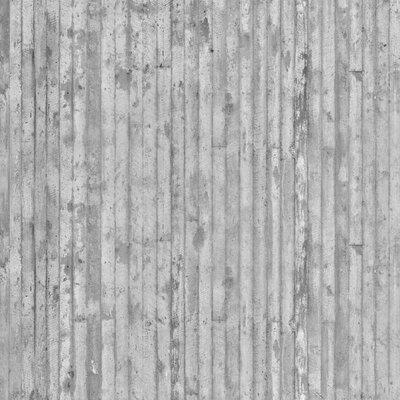PPS. Imaging GmbH Tapete Betonoptik 255 cm H x 384 cm B
