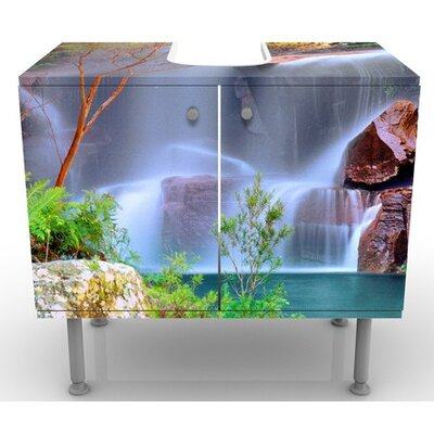 PPS. Imaging GmbH 60 cm Waschbeckenunterschrank Summer Fairytale