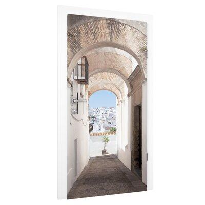 PPS. Imaging GmbH Tapete Mediterranes Vejer de la Frontera in Spanien 215 cm B cm H x 96 cm B