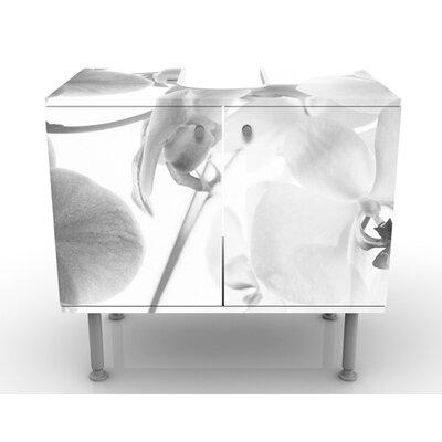 PPS. Imaging GmbH 60 cm Waschbeckenunterschrank Orchid