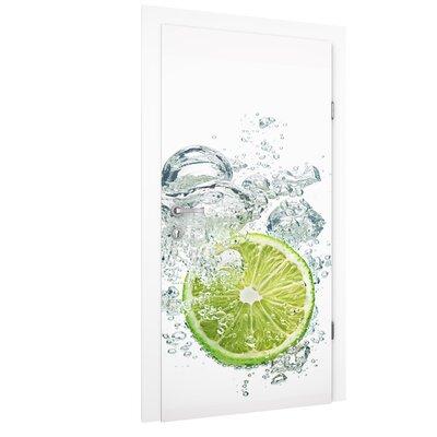 PPS. Imaging GmbH Tapete Lime Bubbles 215 cm B cm H x 96 cm B