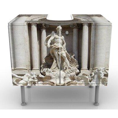 PPS. Imaging GmbH 60 cm Waschbeckenunterschrank Fontana Di Trevi