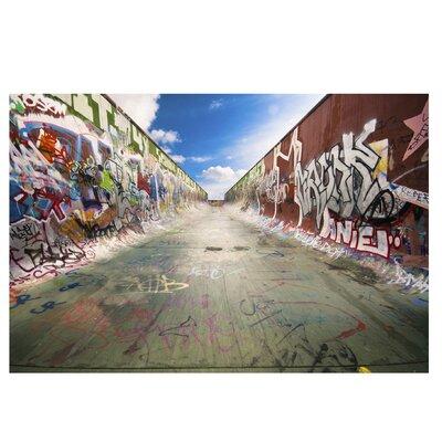 PPS. Imaging GmbH Tapete Skate Graffiti 255 cm H x 384 cm B