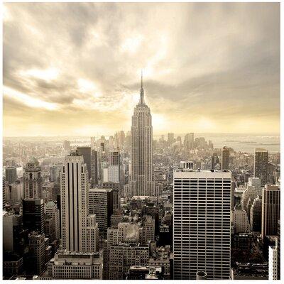 PPS. Imaging GmbH Tapete Manhattan Dawn 288 cm H x 288 cm B