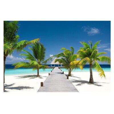 PPS. Imaging GmbH Tapete Catwalk to Paradise 190 cm H x 288 cm B