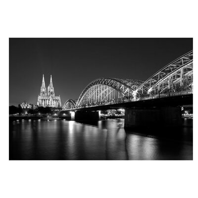 PPS. Imaging GmbH Tapete Köln bei Nacht II 290 cm H x 432cm B