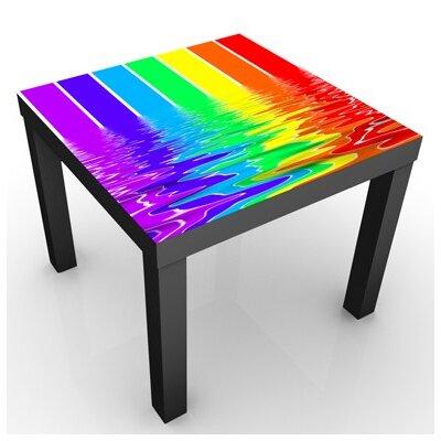 PPS. Imaging GmbH Quadratisch Kindertisch Rainbow Coloured
