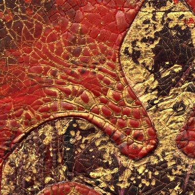 PPS. Imaging GmbH Tapete Secret in Patina 288 cm H x 288 cm B