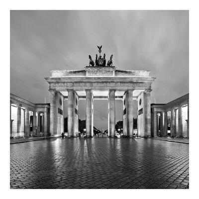 PPS. Imaging GmbH Tapete Erleuchtetes Brandenburger Tor II 288 cm H x 288 cm B