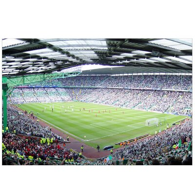 PPS. Imaging GmbH Tapete Fußballstadion 320 cm H x 480 cm B