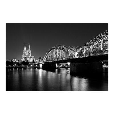 PPS. Imaging GmbH Tapete Köln bei Nacht II 255 cm H x 384 cm B