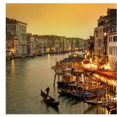PPS. Imaging GmbH Tapete Großer Kanal von Venedig 336 cm H x 336 cm B