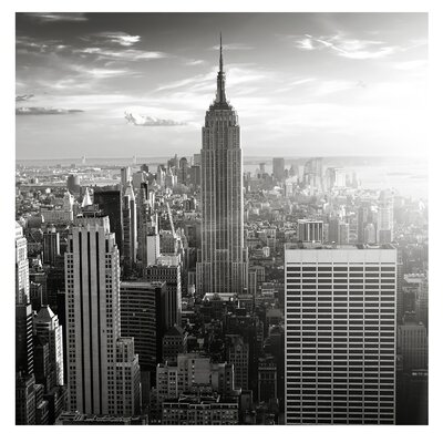 PPS. Imaging GmbH Tapete Manhattan Skyline 240 cm H x 240 cm B
