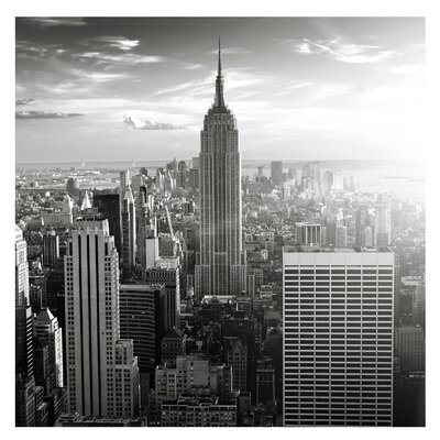 PPS. Imaging GmbH Tapete Manhattan Skyline 192 cm H x 192 cm B