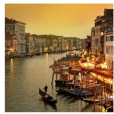 PPS. Imaging GmbH Tapete Großer Kanal von Venedig 288 cm H x 288 cm B