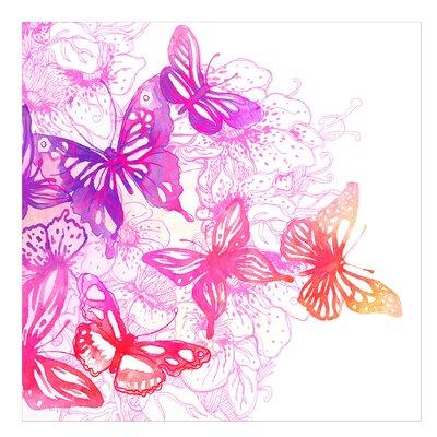 PPS. Imaging GmbH Tapete Schmetterlingstraum 288 cm H x 288 cm B