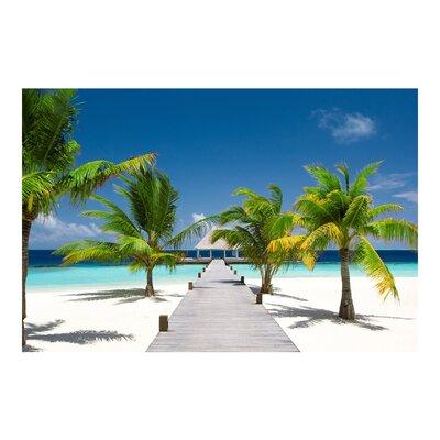 PPS. Imaging GmbH Tapete Catwalk to Paradise 290 cm H x 432 cm B