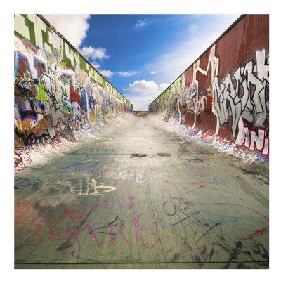 PPS. Imaging GmbH Tapete Skate Graffiti 288 cm H x 288 cm B