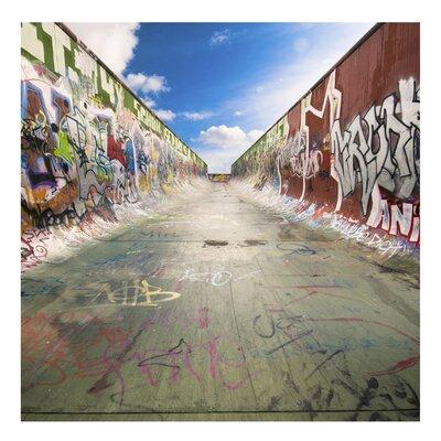PPS. Imaging GmbH Tapete Skate Graffiti 192 cm H x 192 cm B