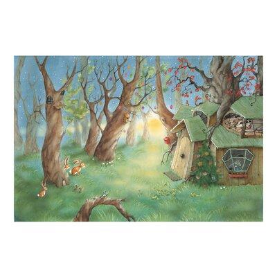 PPS. Imaging GmbH Tapete Kindertapete Wassili und Sibelius schlafen 320 cm H x 480 cm B