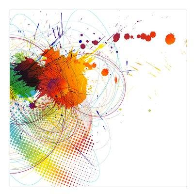 PPS. Imaging GmbH Tapete Rainbow Background 288 cm H x 288 cm B