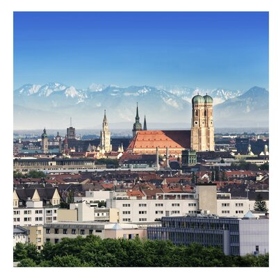 PPS. Imaging GmbH Tapete Vliestapete München 288 cm H x 288 cm B
