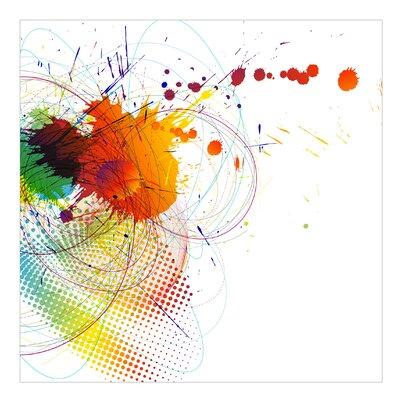 PPS. Imaging GmbH Tapete Rainbow Background 336 cm H x 336 cm B