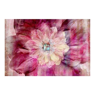 PPS. Imaging GmbH Tapete Grunge Flower 255 cm H x 384 cm B