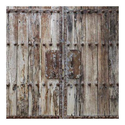PPS. Imaging GmbH Tapete Chinese Door 336 cm H x 336 cm B