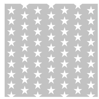 PPS. Imaging GmbH Tapete Weiße Sterne 192 cm H x 192 cm B