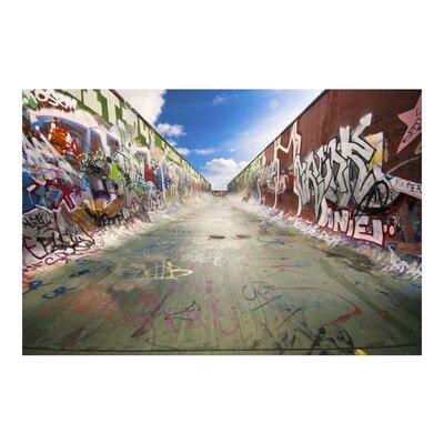 PPS. Imaging GmbH Tapete Skate Graffiti 290 cm H x 432 cm B