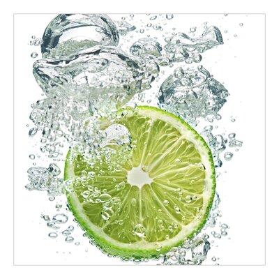 PPS. Imaging GmbH Tapete Lime Bubbles 288 cm H x 288 cm B
