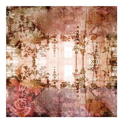 PPS. Imaging GmbH Tapete Old Grunge 336 cm H x 336 cm B