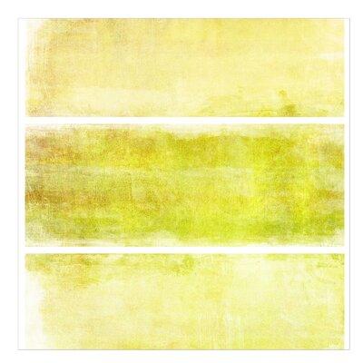 PPS. Imaging GmbH Tapete Colour Harmony Yellow Uni 192 cm H x 192 cm B